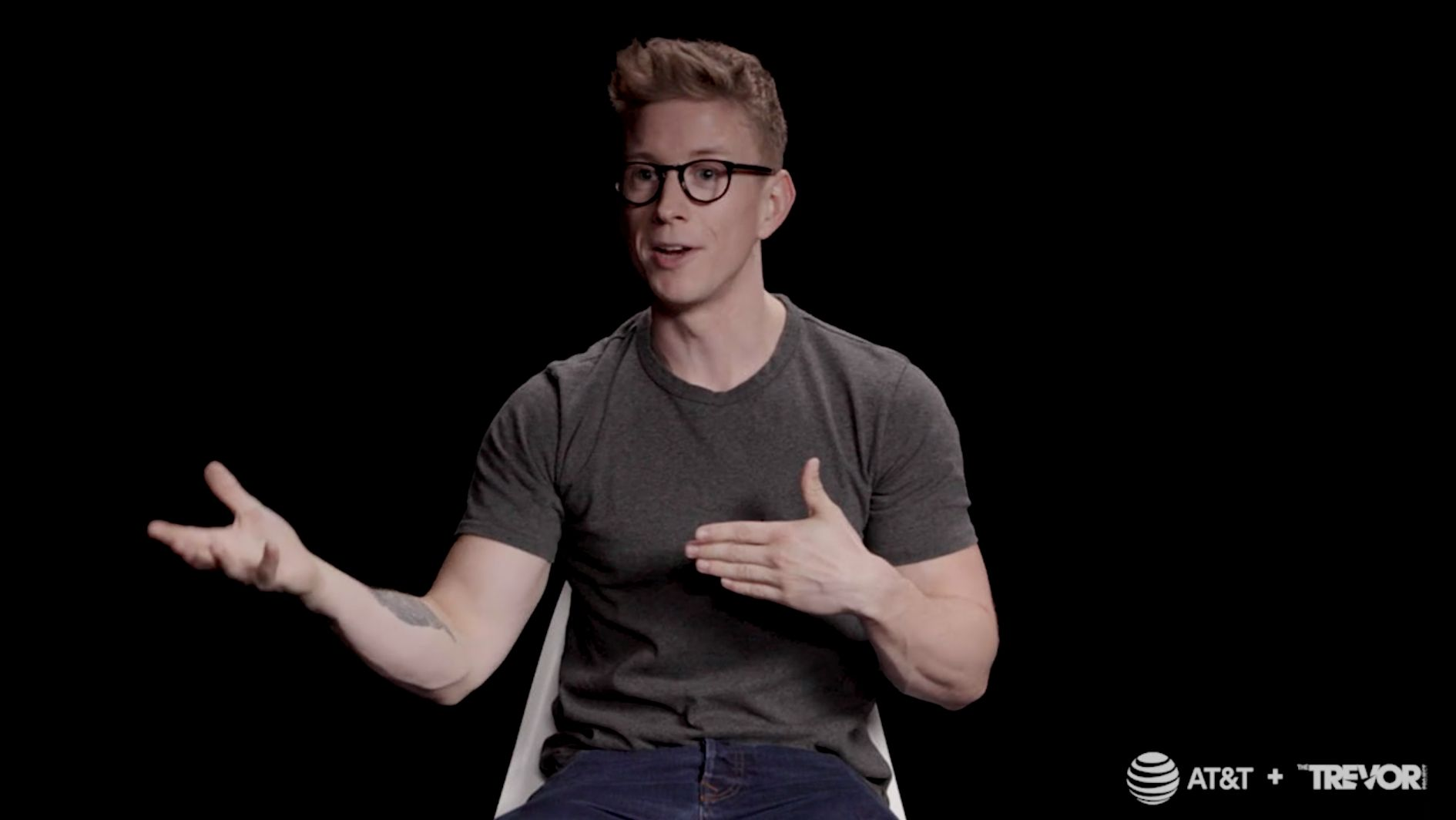 Tyler Oakley Trevor Project