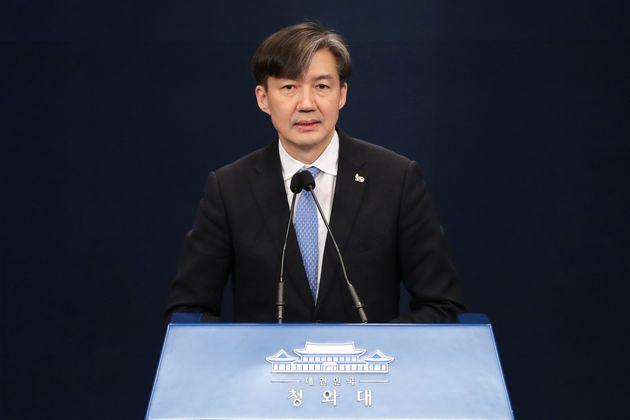 조국 수석의 페이스북 게시글에 민주당이 당황스러워 하는