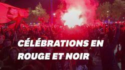 Les supporters rennais ont célébré la victoire comme il se