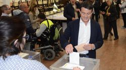 Manuel Valls a voté pour la première fois en