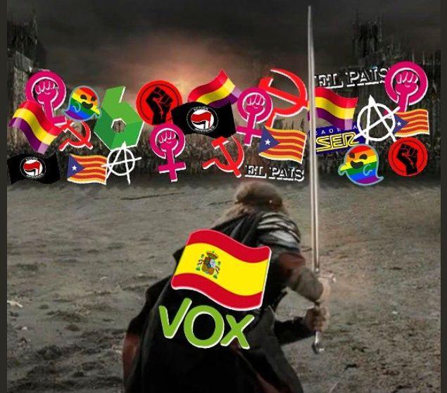 Contra las mujeres, los gays, la prensa...: el tuit de Vox llamando a la