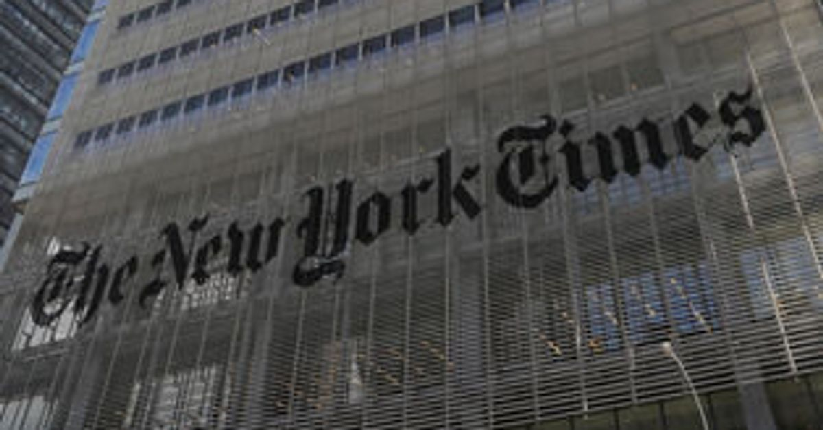 New York Times Apologises For Anti Semitic Cartoon In International