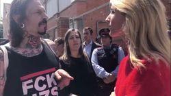 El encontronazo de Álvarez de Toledo en su colegio electoral: