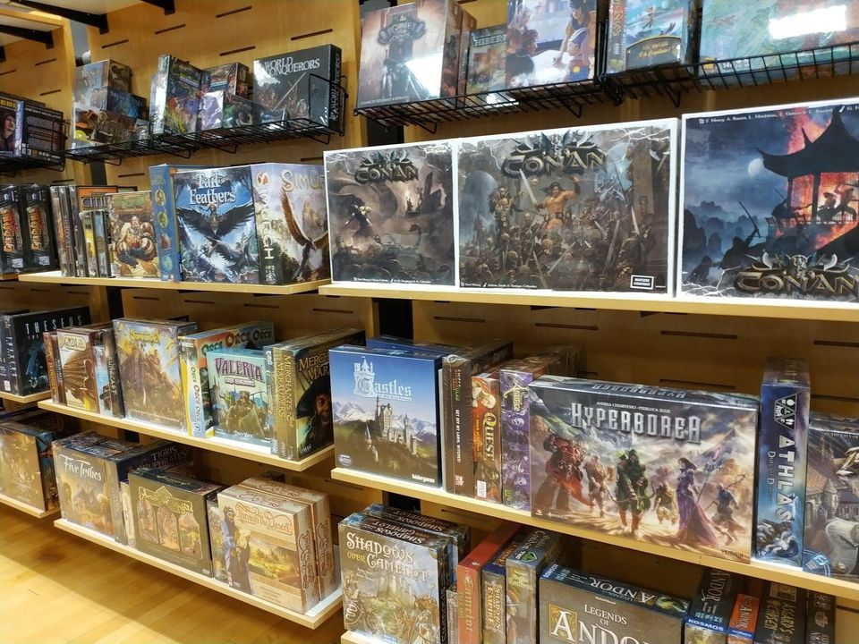 If you're new to board games, stores can be a little intimidating. We've picked seven great board games...