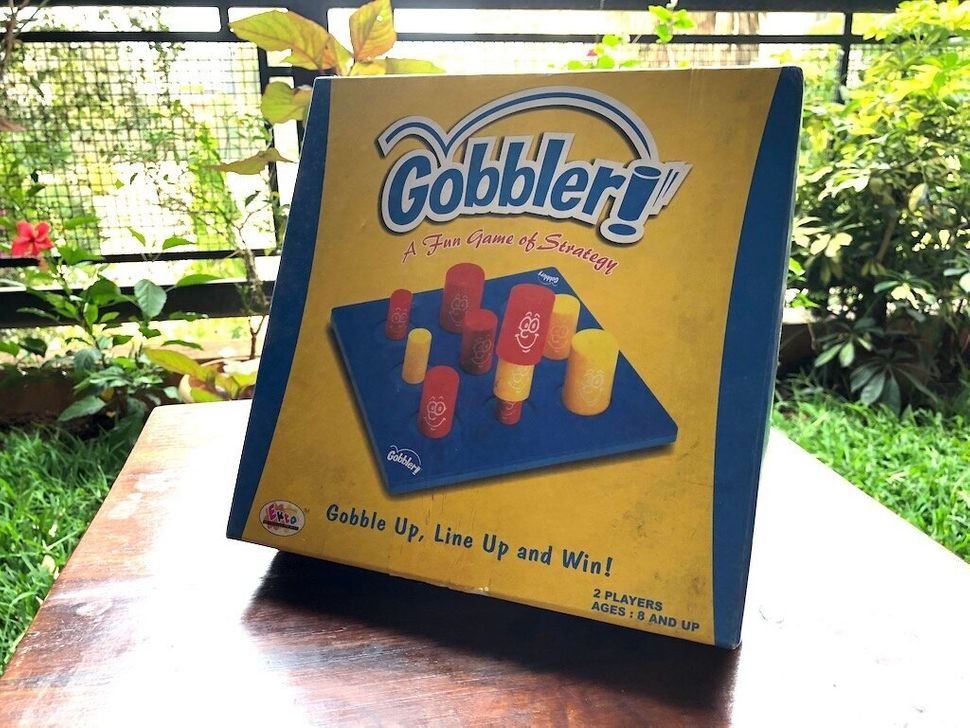 Gobblet Gobblers is a great, kid-friendly game anyone can enjoy.