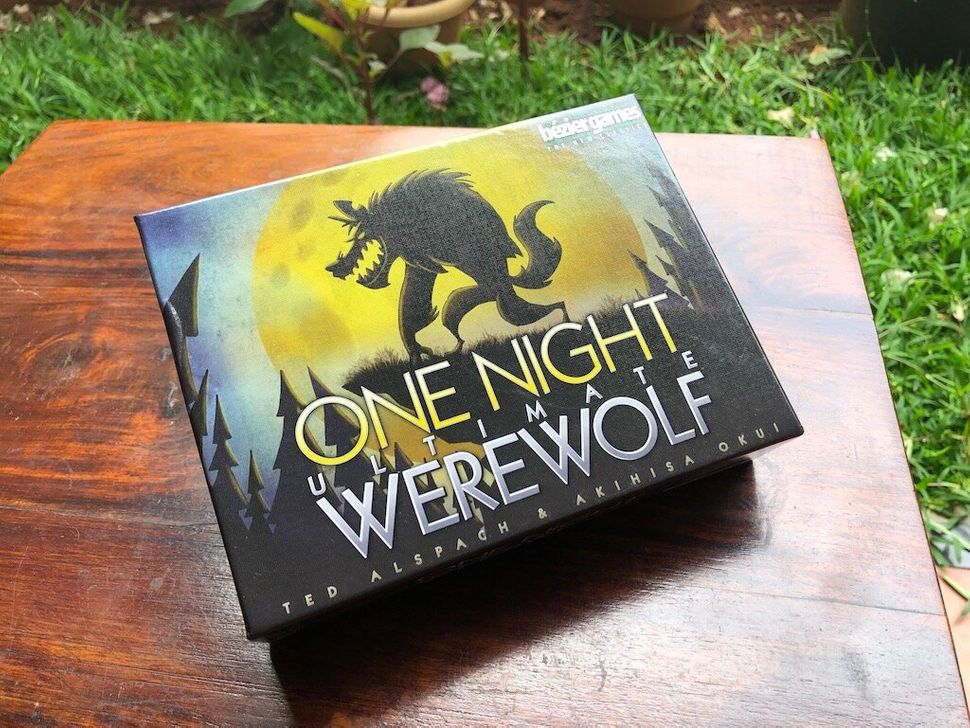 One Night Ultimate Werewolf is a great hidden-role game. There's a huge element of chaos because often players themselves won't know what their actual character has become, making it fun for parties.