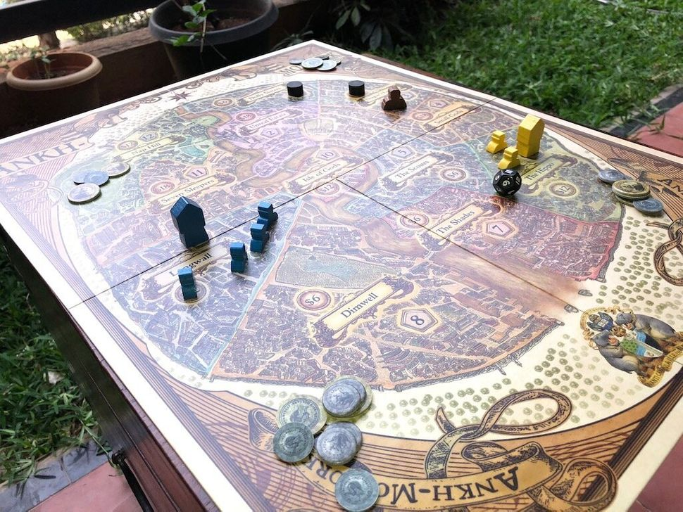 Actual gameplay is quick and fast, and a beautiful map and detailed tokens makes this as much a collector's item as a board game.