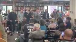 'This Land Is Our Land!': White Nationalists Storm Bookstore