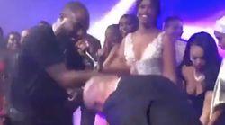 Le déhanché de Christian Louboutin au mariage d'Idris Elba à Marrakech vaut le