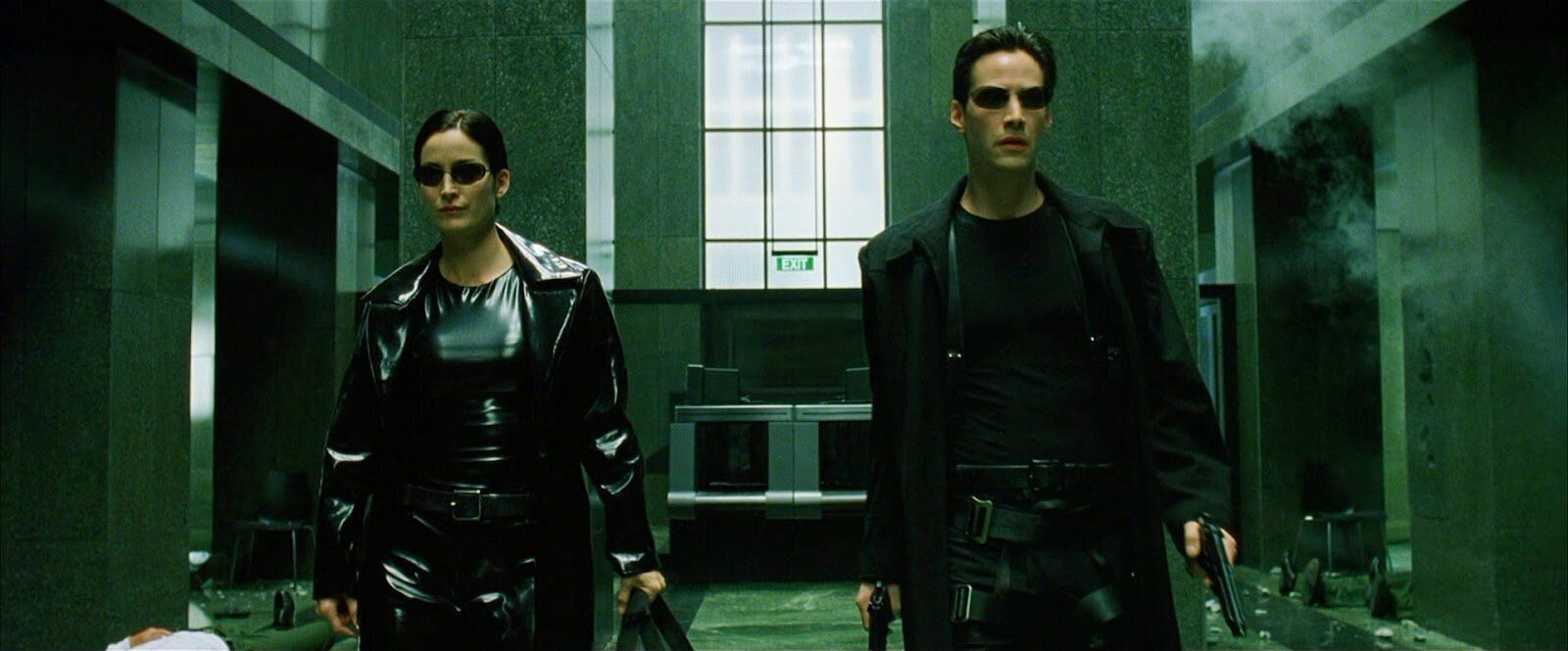 """The Matrix"" on Netflix."