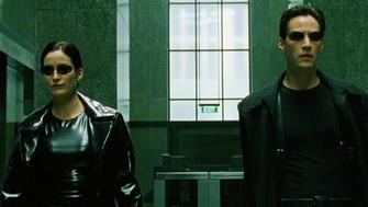 """""""The Matrix"""" on Netflix."""