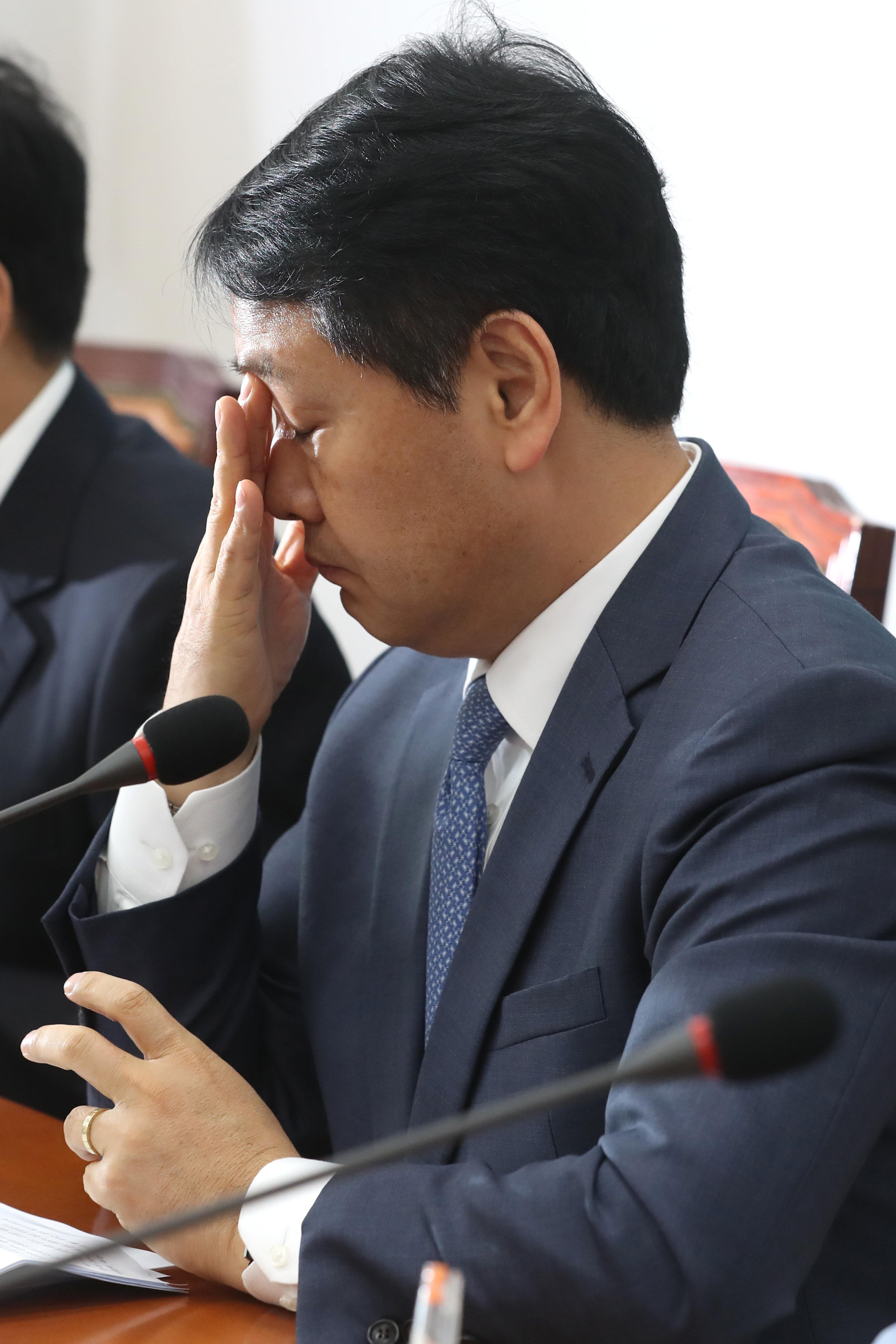 김관영 대표가 '빠루 정국' 해법을