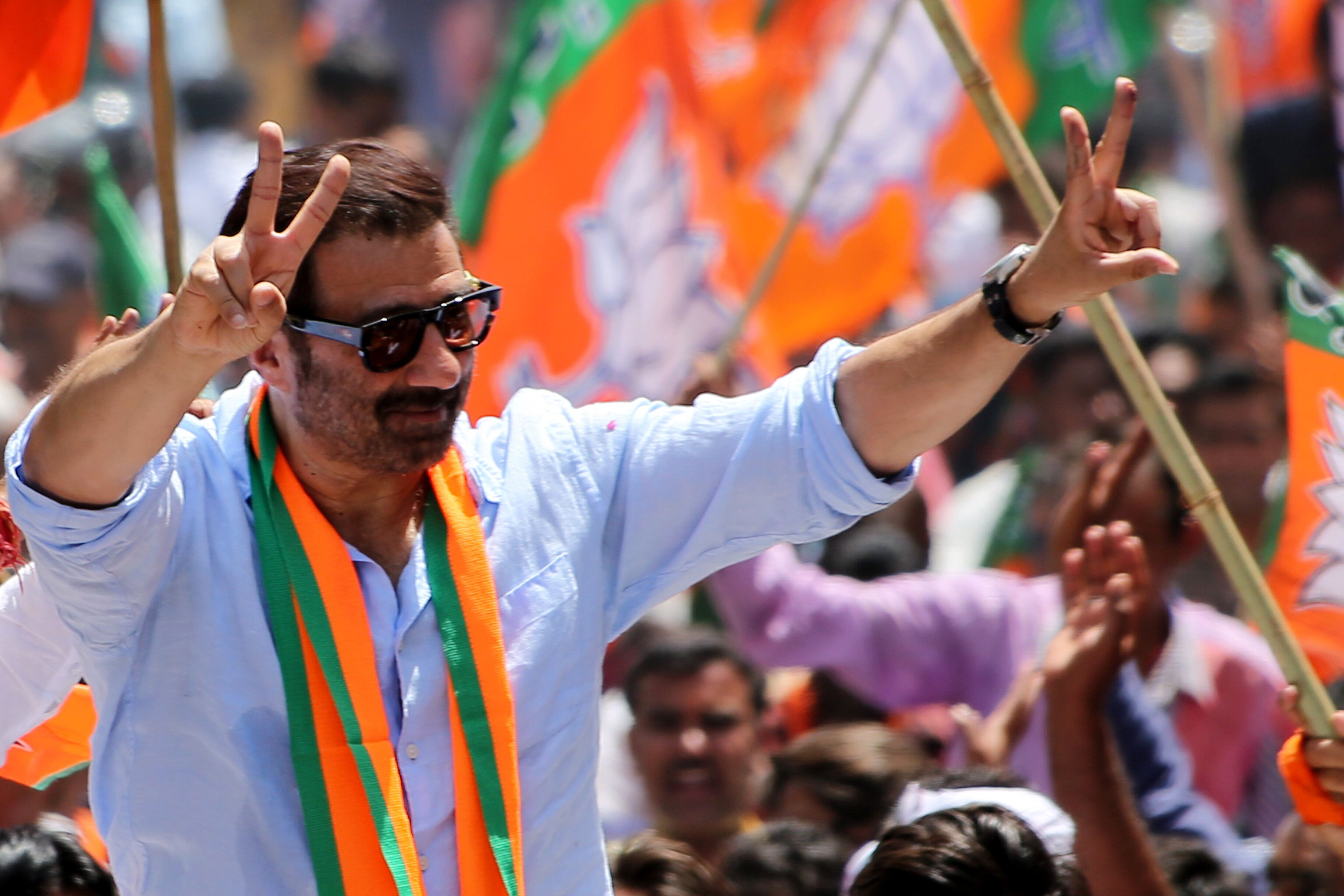 Sunny Deol Files Nomination From