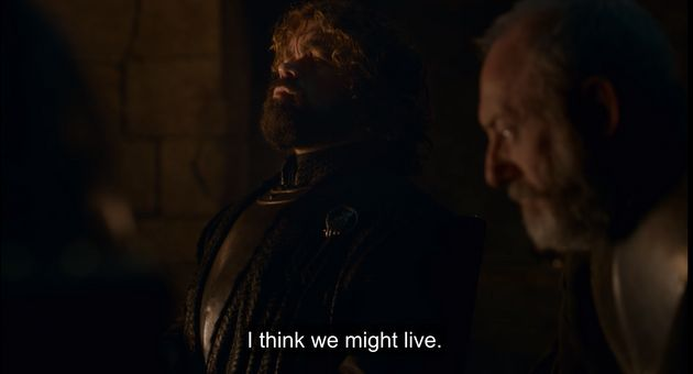 Tyrion after talking with