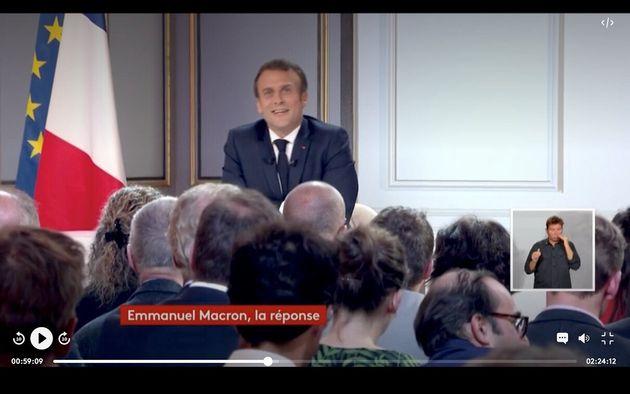 Emmanuel Macron, Narcisse du grand