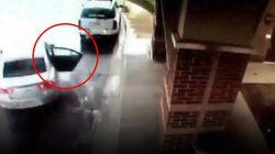 Un niño de ocho años salva a su hermana cuando robaban su