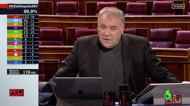 Ferreras habla claro en 'Al rojo vivo' (laSexta) y señala el que, para él, es el gran problema del
