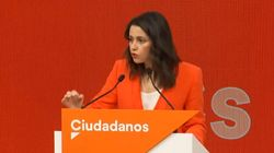 Inés Arrimadas descarta un pacto de Ciudadanos con el