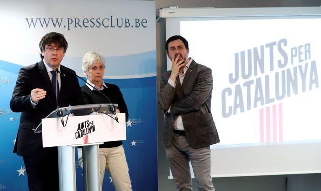 La Junta Electoral excluye a Puigdemont de las listas para las
