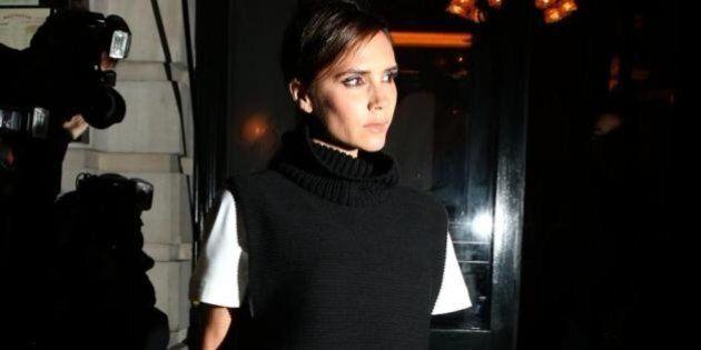 Vouge dinner party: Victoria Beckham debutta alla London fashion week. Tutti i vip