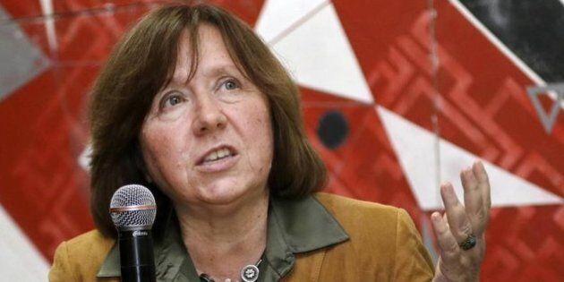 Il premio nobel Svetlana Aleksievič ad Huffpost: