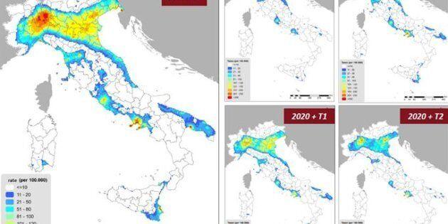Lo smog killer nella mappa dei ricercatori Enea. 85mila morti all'anno in Italia per polveri
