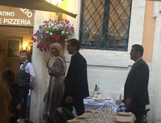 Cena in trattoria al Pantheon e visita alla Comunità di Sant'Egidio: i due giorni di Ivanka Trump nella