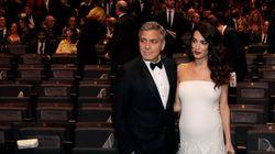 Clooney sta per diventare papà e l'annuncia in un