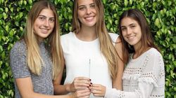 Tre adolescenti hanno inventato una cannuccia