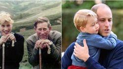 William celebra la festa del papà. Ma nella foto manca