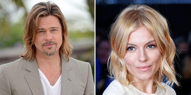 Brad Pitt e Sienna Miller si sarebbero baciati al festival musicale di