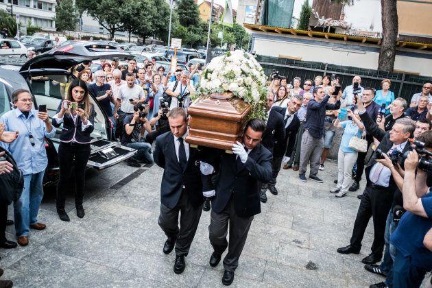 28/06/2017 Milano, funerali di Paolo