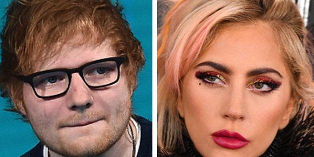 Ed Sheeran abbandona Twitter e la colpa è dei fan di Lady