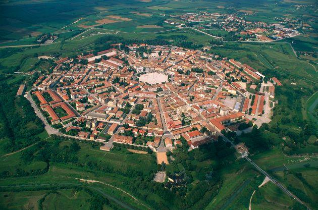 La fortezza di Palmanova(Friuli-Venezia