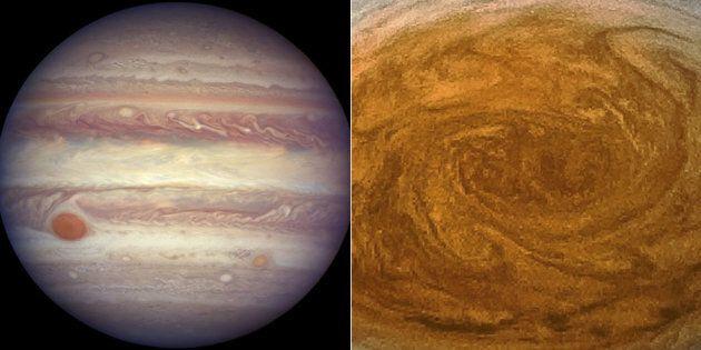 Su Giove la tempesta più grande e longeva del sistema solare. In queste foto una storia lunga almeno...