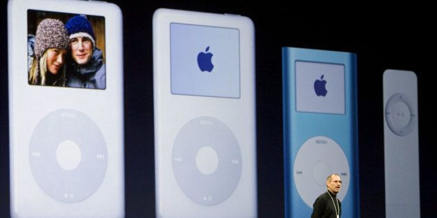 Apple ritira l'iPod nano e l'iPod Shuffle dal