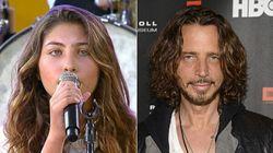 La figlia 12enne di Chris Cornell canta