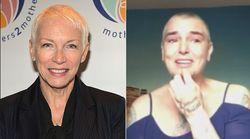 Annie Lennox ha un messaggio per Sinead O'Connor: