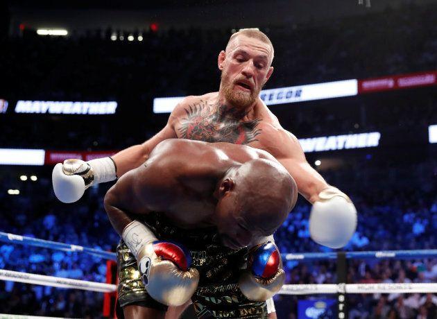 Boxing - Floyd Mayweather Jr. vs Conor McGregor - Las Vegas, USA - August 26, 2017 Conor McGregor in...