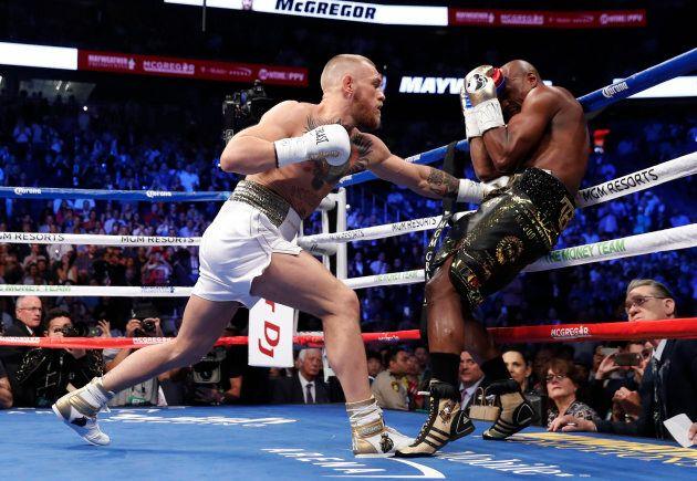 Boxing - Floyd Mayweather Jr. vs Conor McGregor - Las Vegas, USA - August 26, 2017 Floyd Mayweather Jr....