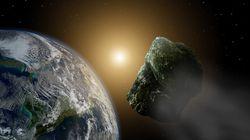 Un grande asteroide
