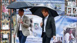 L'omaggio di William e Harry a Diana commuove l'Inghilterra (e non