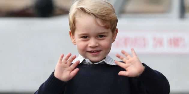 File photo dated 01/10/16 of Prince George who will pass a major milestone next week when he attends...