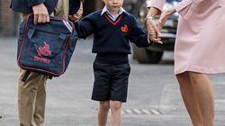 Un calzolaio sostiene che George abbia indossato i suoi mocassini da 40 sterline per il primo giorno di