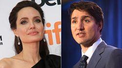 Angelina Jolie e Justin Trudeau condividono una strategia per crescere ed educare i