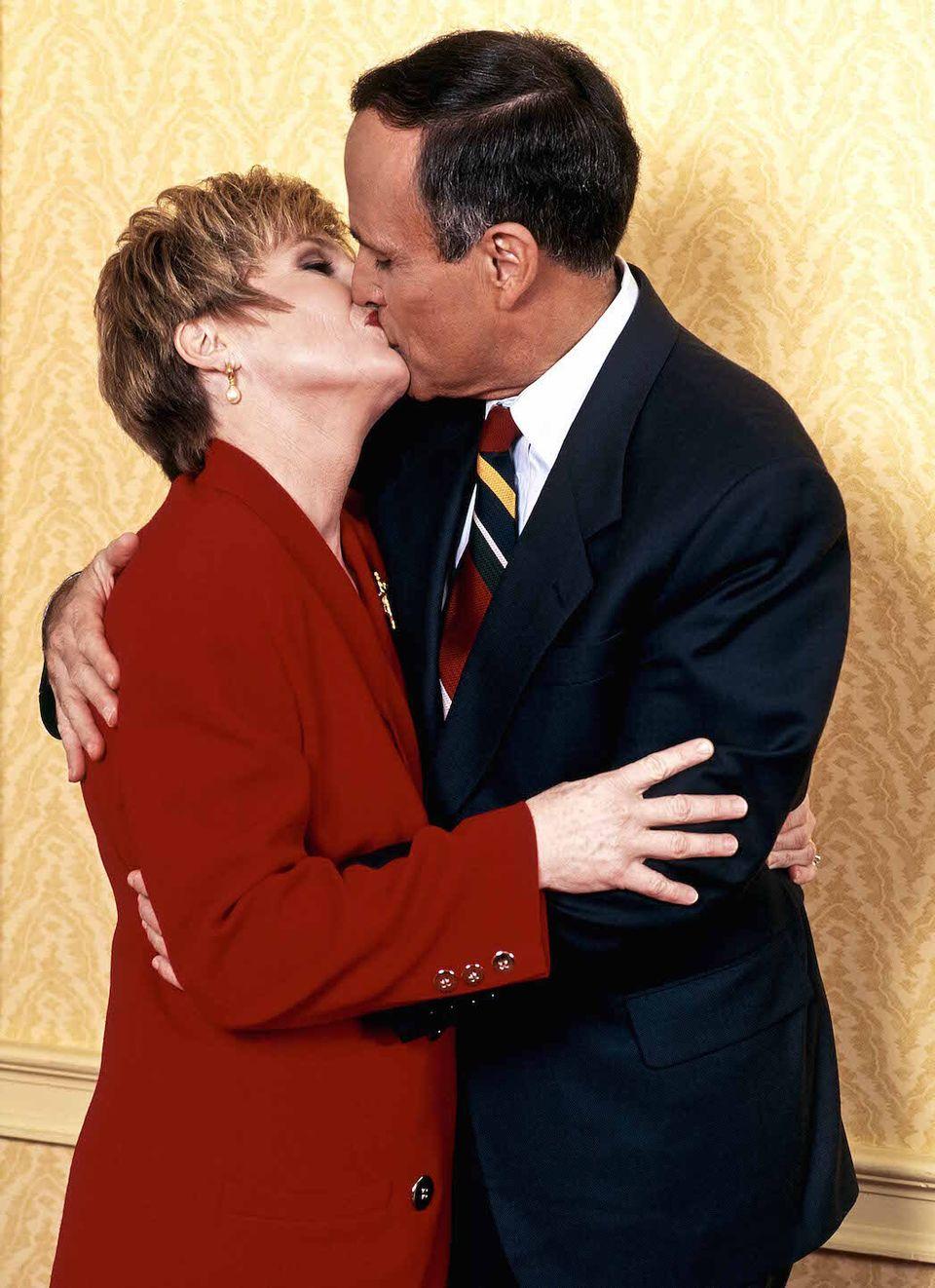 Rudy Giuliani e la sua ex moglie Donna Hannover © Adolfo