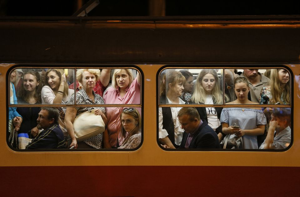 Notturno bus a #Kiev #ucraina