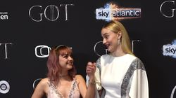 Sophie Turner Reacting To That Shocking Arya Moment Is Big Sister