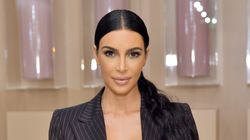 Kim Kardashian Admits She's 'Freaking The F**k Out' At CBD-Themed Baby
