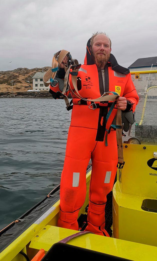 Νορβηγία: Εντοπίστηκε «ύποπτη» φάλαινα που φορούσε ιμάντα με υποδοχή για